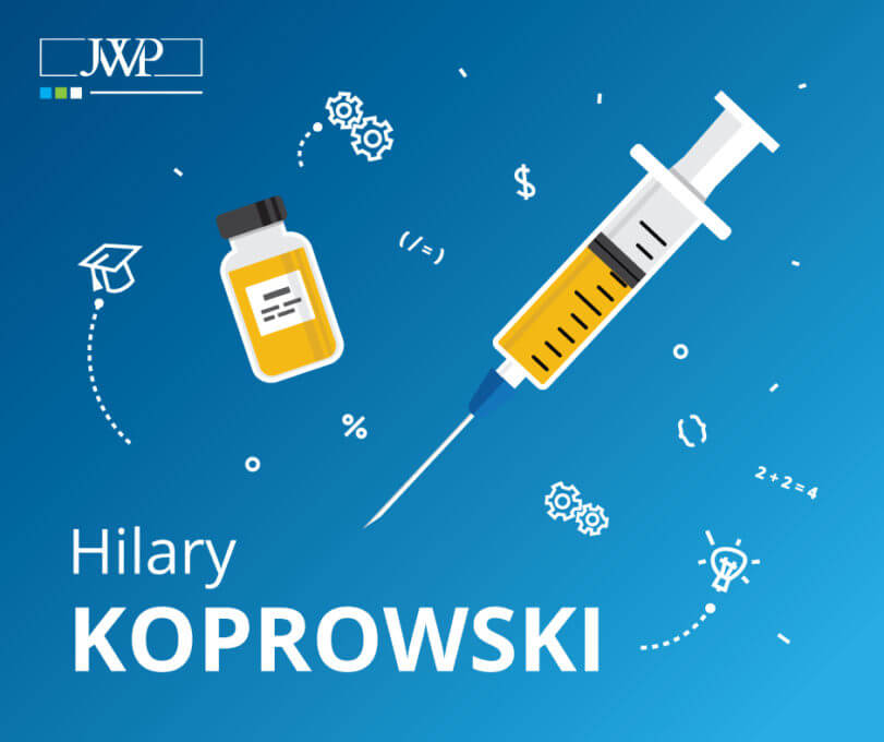 Hilary Koprowski Marzenie O Ratowaniu Ludzkiego Zdrowia I